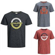 JACK&JONES Hombre Camiseta Top Polo TS rayas slim fit 23067