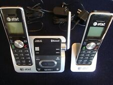 AT&T TL92271 Cordless Phone  System w/answering machine and Bluetooth 2 handsets
