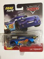 "Disney/Pixar~Cars~""Lil' Torquey""~Drag Racing~XRS~Moving Pistons~2019~HTF~ New"