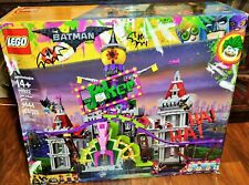 Authentic LEGO Batman Movie DC The JOKER MANOR 70922 3444 PCS Building Kit NEW