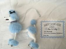 """HANDMADE STANDARD FRENCH POODLE """"DIOR"""" FOR FASHION ROYALTY BARBIE POPPY PARKER"""