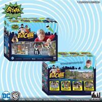 DC Comics Batman Classic 1966 TV Series Batcave mego 8 inch action Playset NEW!