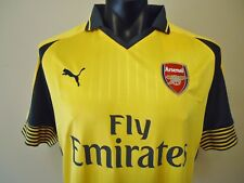 ARSENAL OFFICIAL MENS AWAY 16/17 JERSEY SZ XL NEW