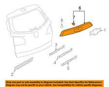Chevrolet GM OEM Traverse Liftgate Tailgate Hatch-Applique Window Trim 23267413
