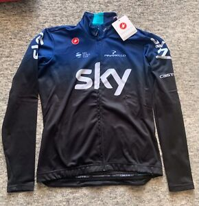Castelli Team Sky Thermal Long sleeve Jersey XL