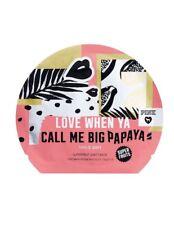 Victoria's Secret Pink Love When Ya Call Me Big Papaya Superfruit Sheet Face Mas