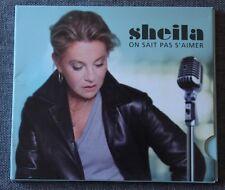 Sheila, on sait pas s'aimer, CD slimcase
