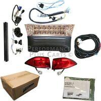 Club Car Precedent Deluxe Street Legal Golf Cart LED Headlight Tail Light Kit, 0
