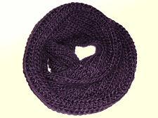 ÉCHARPE TUBE FOULARD TUBE écharpe tricotée écharpe foulard tube violet