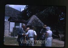 1965 kodachrome Photo slide  Man with camera  Spanish Town  Jamaica