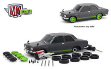 M2 Machines 1:24 Model-Kit Auto-Japan 1970 Datsun 510 Grey Diecast Car 47000-06