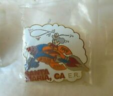 Lot Of 4 Elks Pins # 1538 - Santa Maria, CA E.R.