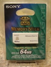 Sony 64 MB MagicGate Memory Stick (MSG-64A)