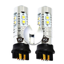 600LM PW24W LED Canbus Bulbs White Daytime Running Lights DRL F30 F31 Passat CC