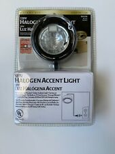 Hampton Bay Black 120V 20W Halogen Under Counter Accent Light Kit New in Box