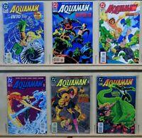 Aquaman (DC-1994) #1, 6-10, Peter David - Writer, Green Lantern-Appr.