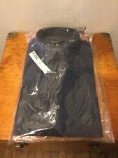 Bar 111 Men's Size M Long Sleeve Striped Button Front Shirt Slim Fit