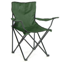 Green Folding Camping Garden Fishing Outdoor Chair Seat With Carry Bag