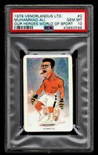 1979 VENORLANDUS MUHAMMAD ALI Boxing Champion Card GRADED PSA 10 GEM MINT