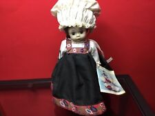 VINTAGE 1972 MADAME ALEXANDER LITTLE WOMEN NORWAY DOLL 8 IN. W/STAND AND TAG