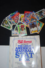 Great American Baseball STAT Book 1st/1st + 20 Cards