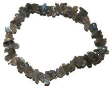 Labradorite crystal chip healing bracelet - Free Postage