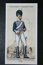 Castlemartin Yeomanry  Fishguard  Vintage 1930's Uniform Card