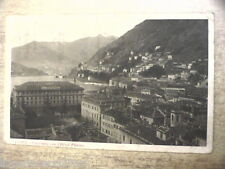 Postcard COMO Panorama with L Hotel Plinius viaggiata 1927 Folding Center