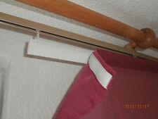 Set 2 Schiebegardinen Gardine Vorhang Dekoration beere rot-violett HxB  170x55cm