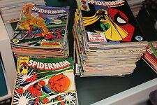 Lote Spiderman volumen 1 del 1 al 180 Forum 203 numeros en total Ver descripcion