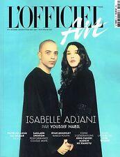 L'OFFICIEL ART #8 Isabelle Adjani YOUSSEF NABIL Tilda Swinton RYAN McGINLEY @NEW