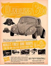 1971 PHASE III V- DUB - THUNDERBUG / MOTION MINICAR CORP ~  ORIGINAL PRINT AD