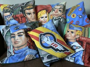 """16"""" Square Thunderbirds Cushion Covers Various Designs"""