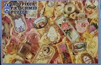 "FX Schmid ""Perfumes and Flowers"" 1000 piece 20"" x 27"" jigsaw puzzle"