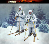 1/35 WWII Russian Ski Troops, 1941-1942 2 Figures High Quality Resin Kit