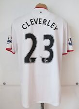 MANCHESTER UNITED 2012/2013/2014 AWAY FOOTBALL SHIRT SOCCER JERSEY #23 CLEVERLEY