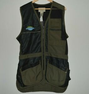 LL Bean Outdoor Discovery Schools Fishing Vest Mesh Men's Size Large
