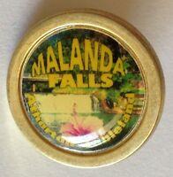 Malanda Falls Atherton Tableland Pin Badge Rare Vintage Souvenir (G3)