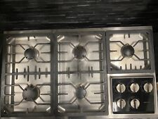 High end Wolf 36 inch Gas Cooktop