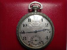 Open Face Pocket Watch-Not Running Antique Van Buren 16 Size