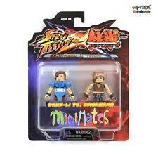 Street Fighter X Tekken Minimates Series 2 Chun-Li vs Hwoarang