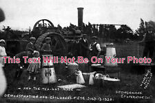 KE 26 - How Tea Was Made, Sittingbourne Fete, Kent 1920 - 6x4 Photo