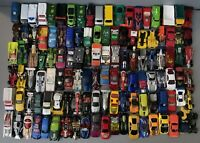 LOT of 110+ Hot Wheels/Matchbox DieCast 1:64 CARS & Rolling Carrying Case!