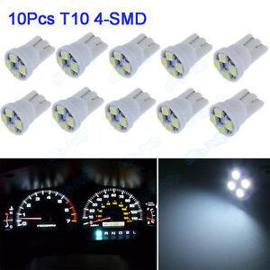 10pc White 168 T10 Instrument Panel Cluster Led Light Dashboard For Chevrolet XB