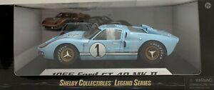 Diecast 1:18 Ford Shelby 1966 GT 40 Mk II (Gulf Blue) #1 (Clean)