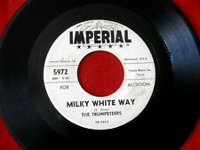 TRUMPETEERS~ MILKY WHITE WAY~ PROMO~ LEAVE THAT LIE ALONE~ IMPERIAL ~ GOSPEL 45