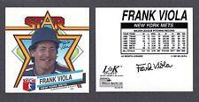 1992 Frank Viola New York Mets Lk Sports Mug Decal Nm