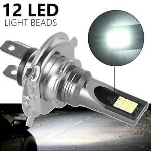 H4 LED Motorrad Lampen Kit Fern-/Abblendlicht Auto Scheinwerfer Birne 6500K 120W