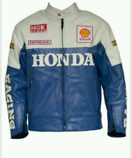 HONDA CLASSIC  MOTORBIKE RACING LEATHER JACKET CE APPROVED