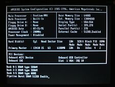 ZIDA TX98 Tomato Board Socket 7 Mainboard with Pentium 200MMX CPU and 128MB RAM